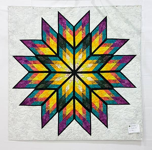 Prismatic Star - Quiltworx pattern