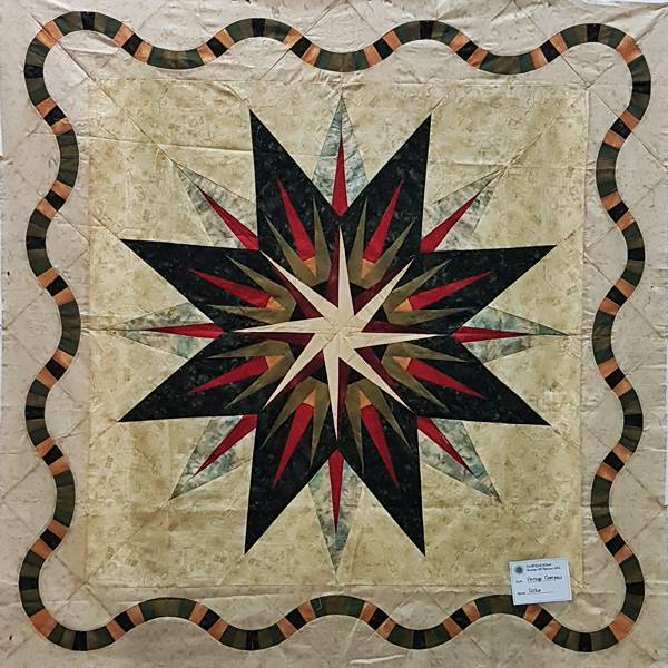 Vintage Compass - Quiltworx pattern
