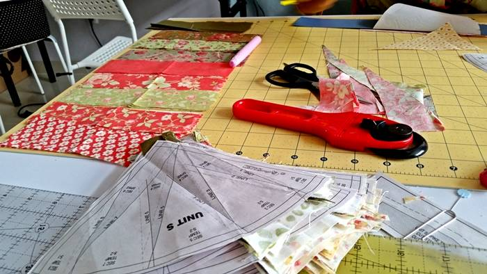 Cutting out your fabric